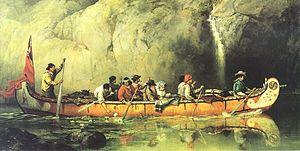 300px-Voyageur_canoe